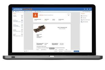 Addison Oneclick Angebot Rechnung Software